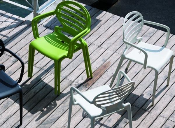 Scab Sedie Da Giardino.Sedie Con Braccioli Da Giardino Cokka Di Scab Design Con Struttura