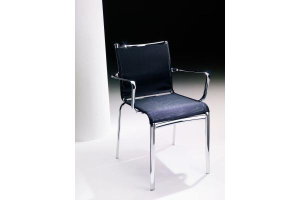 Offerta sedia con braccioli net per esterno di bontempi con seduta