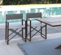 Sedia da regista Bridge di Talenti pieghevole in legno per esterno