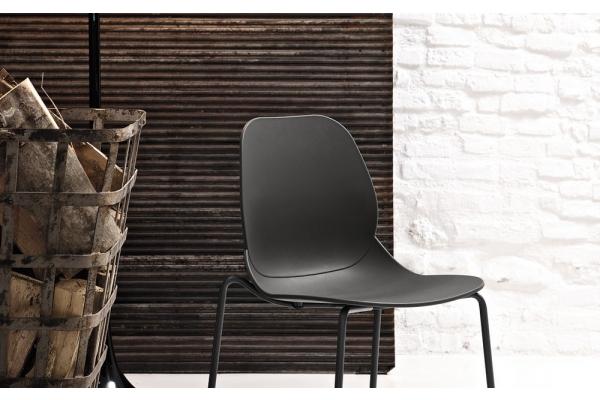 Sedie in plastica colorate moderne impilabili per interno ed esterno