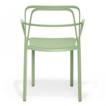 Sedia impilabile in alluminio Intrigo di Pedrali