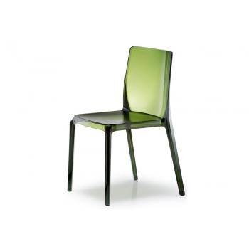 Sedia impilabile in plastica Blitz 640 di Pedrali