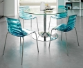 Sedia impilabile l'Eau di Connubia by Calligaris