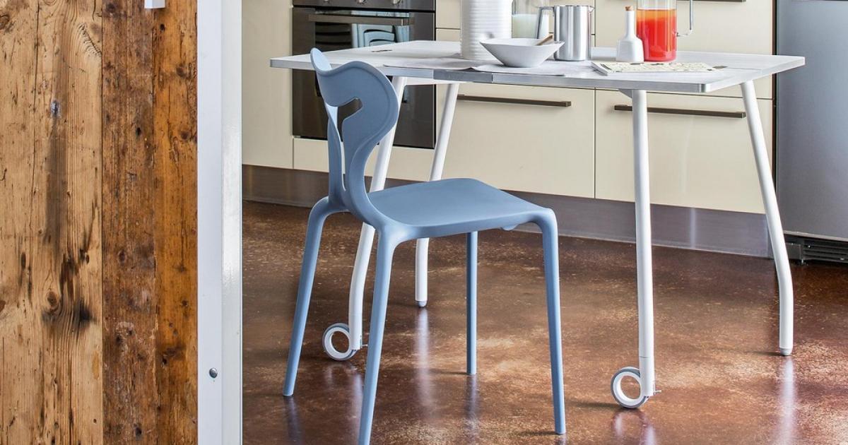 Connubia Sedia Area51CB1042 sedie in plastica |Arredamento Pari