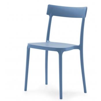 Sedia in plastica impilabile Argo di O&G Calligaris