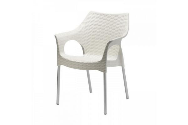 Sedia in plastica Olimpia di Scab Design impilabile