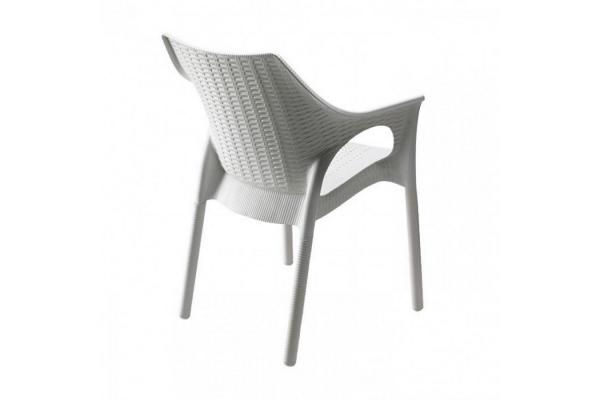 Sedia in plastica Olimpia Trend di Scab Design impilabile