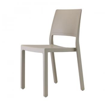 sedia kate di scab design impilabile per uso interno ed esterno