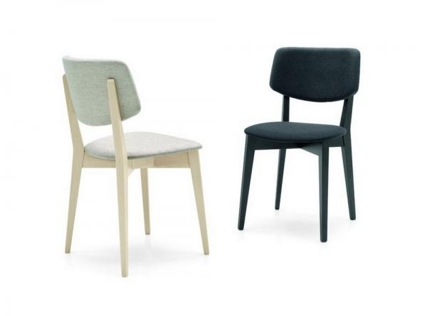 Sedie Sala Da Pranzo Calligaris : Sedia robin di calligaris con struttura legno e seduta in tessuto