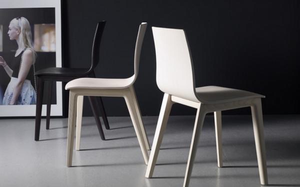 Sedia Smilla in legno di Scab Design