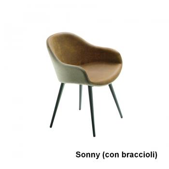 Sedia Sonny di Midj da ufficio o da soggiorno