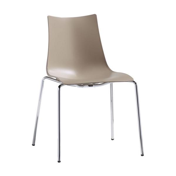Sedie Di Plastica Offerta.Sedia Zebra Di Scab Design 4 Gambe In Plastica