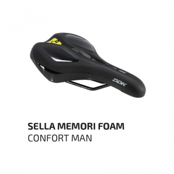Sella Memory Foam di World Dimension per bici