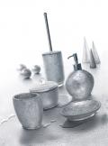 Set da Bagno Argent di Cipì in resina e foglia oro