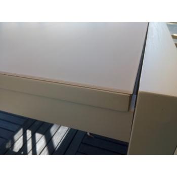 Set tavolo allungabile Touch e sedie Maiorca con braccioli di Talenti per esterno