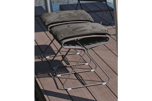 Sgabello in ferro boss di bontempi per interno e esterno