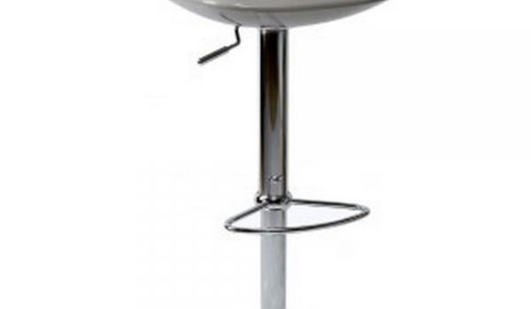 Sgabello girevole e regolabile in altezza con monoscocca abs