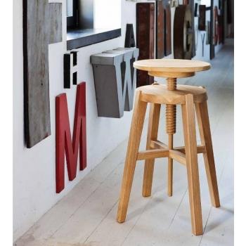 Sgabello Move di Altacorte in legno