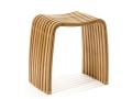 Sgabello Ordina Stool di Cipì in Bamboo laccato e curvato a caldo