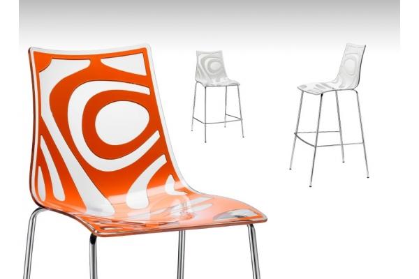 Sgabello Wave h. 80 di Scab Design