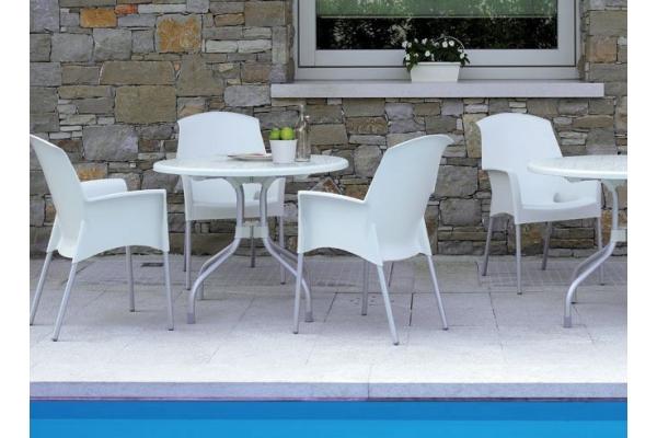 Tavolino da bar Ribalto di Scab Design con piano ribaltabile