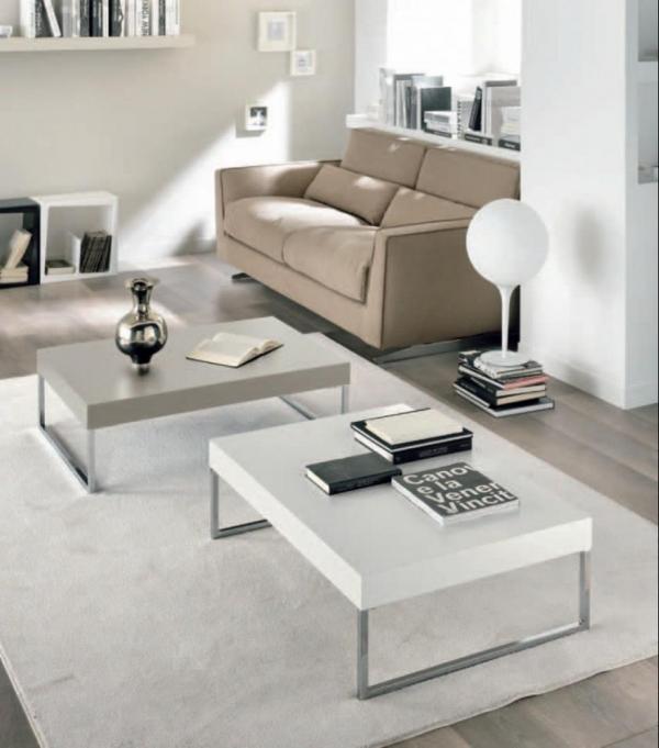 tavolino salotto bianco opaco: tavolino da salotto in legno noce ... - Tavolino Salotto Piano Vetro Palestrina