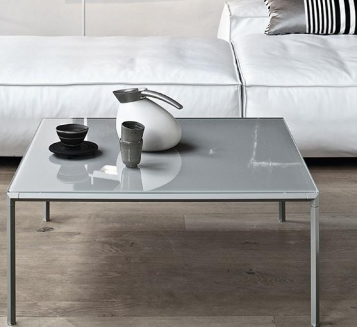 Tavolini Da Salotto Moderni Bontempi.Tavolino Da Salotto Diagonal Di Bontempi Con Struttura In Acciaio