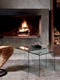 Tavolino in cristallo Igloo Di Bontempi casa