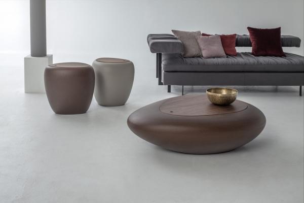 Tavolino Kos di Tonin Casa con vano contenitore