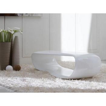 Tavolino nemo da salotto di stones con struttura in resina for Tavolino salotto bianco laccato