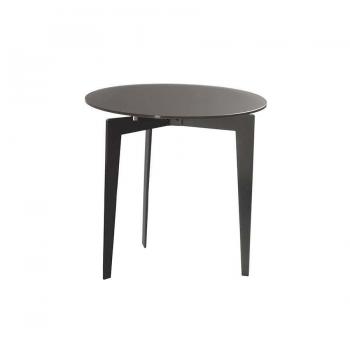 Tavolino Nordic di Pezzani struttura in acciaio Verniciato e piano in vetro temperato