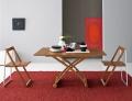 Tavolino regalabile in altezza in legno Mascotte di Connubia by Calligaris
