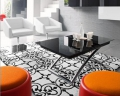 Tavolino Magic-J glass di Connubia by Calligaris allungabile e regolabile in altezza