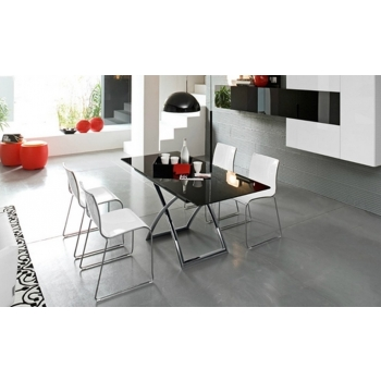 Tavolino trasformabile Magic-J di Calligaris