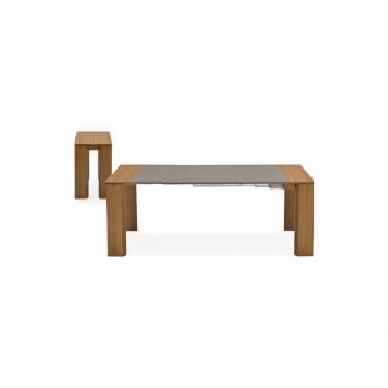 Tavolo a consolle New Mistery di Connubia by Calligaris interamente in legno