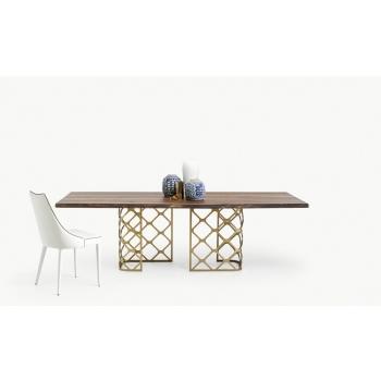 Tavolo allungabile 190 Majesty rettangolare di Bontempi