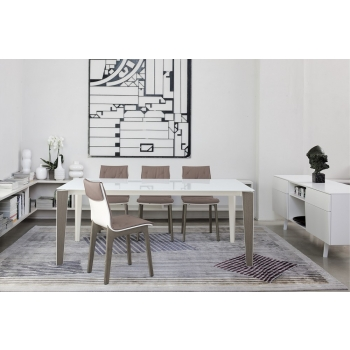 Tavolo allungabile cm 160 Senso di Bontempi