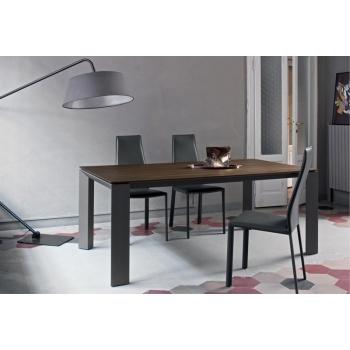 Tavolo allungabile New Edro Bontempi disponibile in diverse dimensioni e finiture