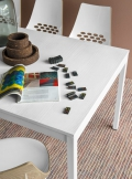 Tavolo allungabile Snap di Connubia by Calligaris con piano in nobilitato