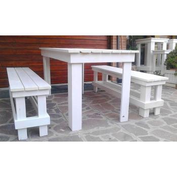 Tavolo alto bar in legno