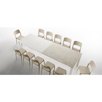 Tavolo Badù di Midj allungabile