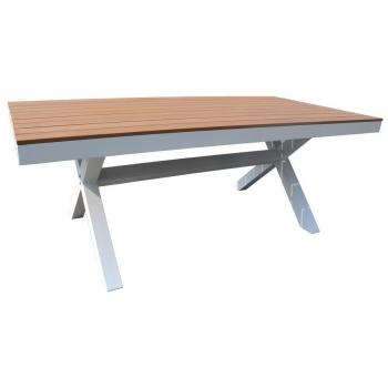 Tavolo Baratti di Greenwood in alluminio da esterno