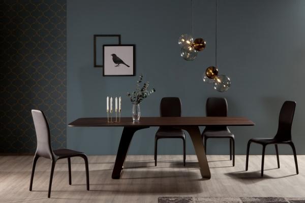 Tavolo Brenta di Tonin Casa fisso in diverse dimensioni