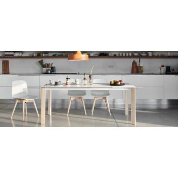 Tavolo da cucina allungabile Blade di Midj