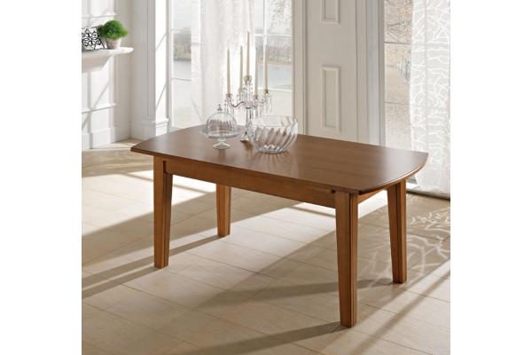 Tavolo dallo stile classico Bag/AL100 di Benedetti interamente in legno