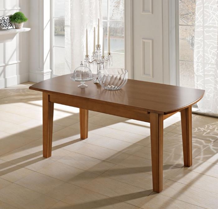Tavolo dallo stile classico Bag/A di Benedetti interamente in legno