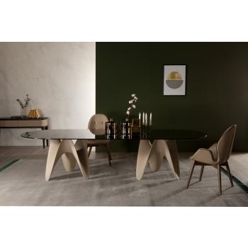 Tavolo fisso dal design unico ed elegante Gaya di Tonin Casa