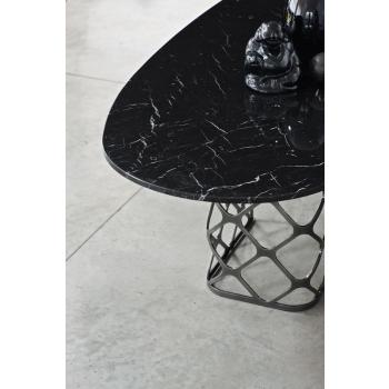Tavolo fisso e allungabile Majesty rettangolare di Bontempi