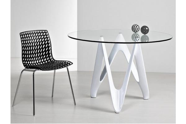 Tavolo Rotondo Moderno Design.Tavolo Rotondo Allungabile Design Moderno Tavolo Rettangolare Bianco