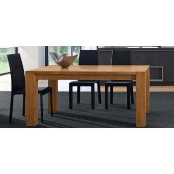 Tavolo fisso Quare fisso in legno massello
